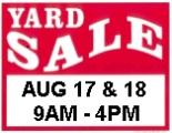 Capri Terrace Yard Sale