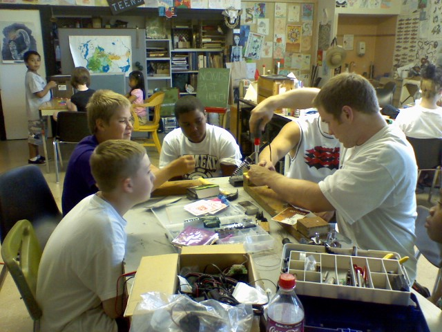 Arts & Crafts. Spring Break at the PAL Youth Center, Gresham Oregon. Info here!