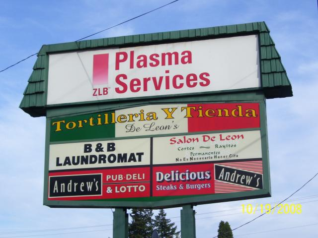 Drug dealers outside ZLB Plasma Services impact Glisan Center businesses