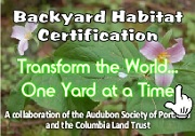 Join today! Sustainable backyard habitat. A unique program that supports urban gardeners in their efforts to create natural backyard habitats. Together we make our cities a healthier place, for ourselves and for wildlife. Plant Roots, Create a Habitat, Transform the World...One Yard at a Time. Info here!