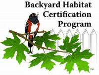 Become a Certified Habitat. Backyard Habitat Cretification Presentation: Wed Jul 15 2015 6:30PM, St Aidan's Episcopal Church, 174th & NE Glisan. Info here!