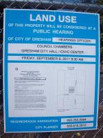 Methadone Clinic at 162nd & E Burnside Seeks Approval for Continued Operation, Public Hearing: Sep 9, 2011 9:30AM. Info here!