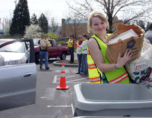Gresham and Wood Village Annual Earth Day Recycling Event: Apr 23, 2011 9AM-2PM.  Info Here!