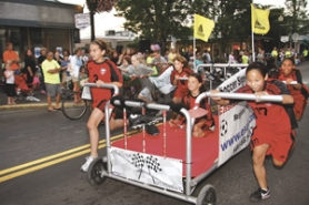 Bring a chair and join us for the exciting (and always hilarious) annual Olympic Bed Races in Historic Downtown Gresham: Aug 09, 2013 7PM. Info here!