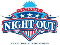 Join your neighbors for the 32nd Annual National Night Out: Aug 04, 2015 All Day. Send criminals a message!  Help make your community safe and raise awareness about local anti-crime programs. Info here!