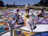 Come help paint Plaza del Sol at the Rockwood Cultural Marketplace, Sep 18, 2009 9:30AM-6PM.  Info here!