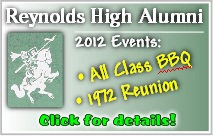 Reynolds High School Alumni events for Summer 2012. Catch up with old friends, share a few laughs, create great new memories. Info here!