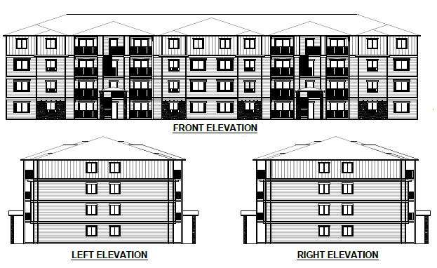 CORRECTION: 64-Unit, 4-story Waterside Apartment Homes Complex Proposed for 165th & NE Halsey. Info here!
