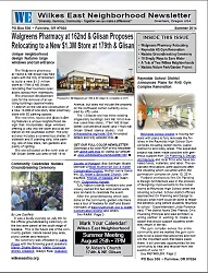 Summer 2014 Wilkes East Neighborhood newsletter. Inside this issue: Walgreens Pharmacy Relocating, Reynolds HS Gym Renovation, Nadaka Groundbreaking Ceremony, 10 Simply Ways to Save Water, A Tale of Two Wilkes Neighborhoods, Nadaka Nature Park/Garden Project. Read it here!