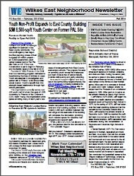 Fall 2014 Wilkes East Neighborhood newsletter. Click to view!