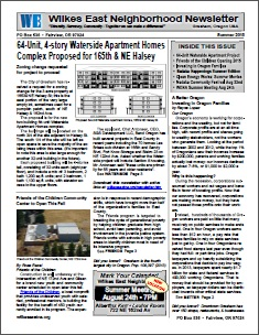 Summer 2015 Wilkes East Neighborhood newsletter. Click to view!